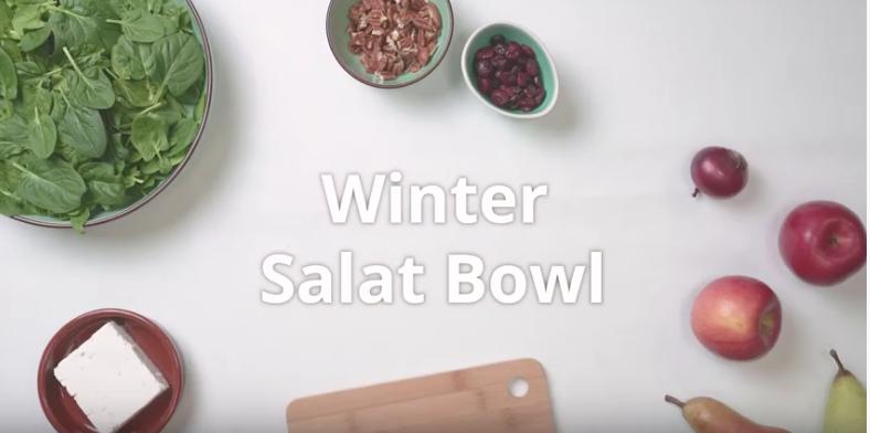 Winter Salat Bowl